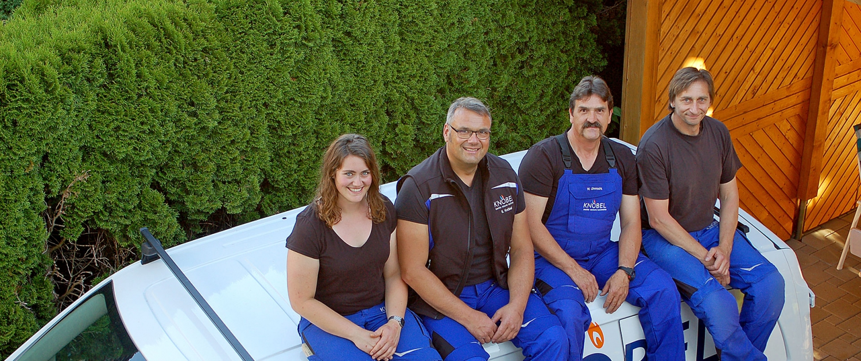 Knöbel Heizung Sanitär Monteure Team