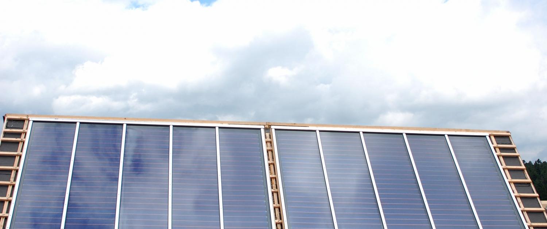 Moderne Solaranlage von Knöbel Sanitär